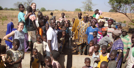 Borehole in Amansie West, Ghana