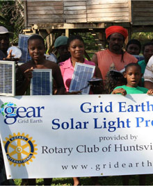 Solar lamps for belize
