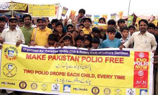 Eradication of Polio in Pakistan For Polio Eradication