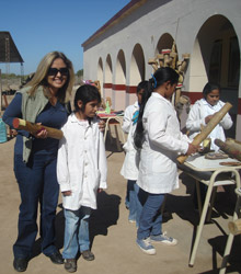 Ana Cáceres become a Rotarian thanks to taking part in a Group Study Exchange.