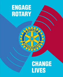 The 2013-14 RI theme, Engage Rotary, Change Lives