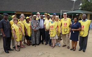 Members of the National Immunization Days team to Nigeria. Photo courtesy of Richard Rivkin