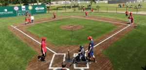 The Buddy Ball baseball field in Rochester, New Hampshire.