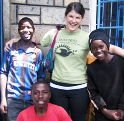 Rotary Peace Fellow Julia Smith in South Africa.