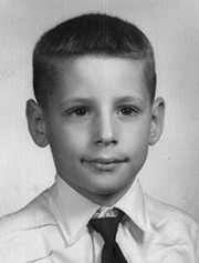 John Hewko at age 5. Many 5th Birthday & Beyond supporters are sharing childhood photos of themselves to help 'put a face' on the issue.