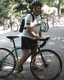 Tom Woods is training for the El Tour de Tucson.