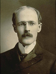 Paul Harris, soon after he started practicing law in Chicago in 1896.