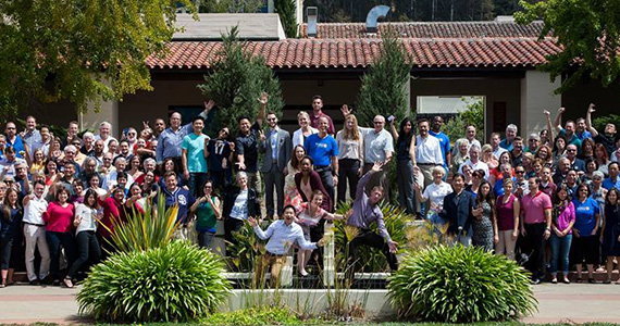 Participants in the young professional summit held in Berkeley, California, USA.
