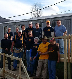 Alabama club builds wheelchair ramps