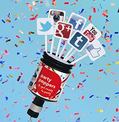 160204_SocialMediaPartyPopper