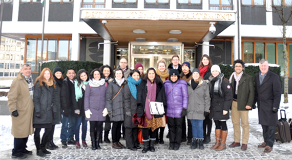 Rotary Peace Fellows in Oslo