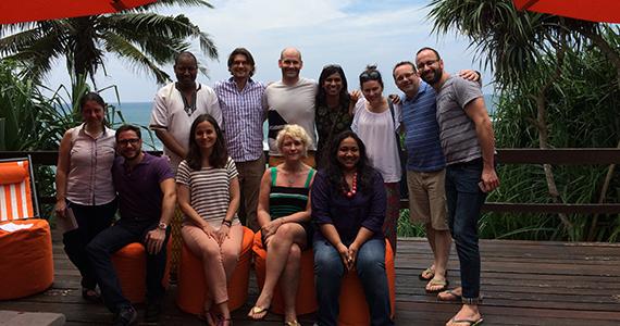 The team of Leadership Retreat Peace Fellows