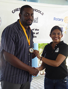 Chess tournament winner