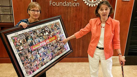 Carol Ferguson presents the Collage of Gratitutde