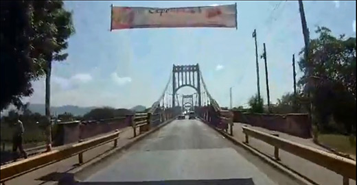 The Choluteca bridge