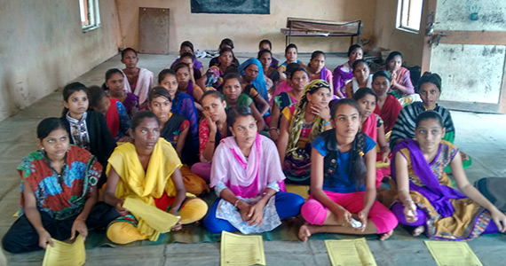 Women in the second chance literacy program.