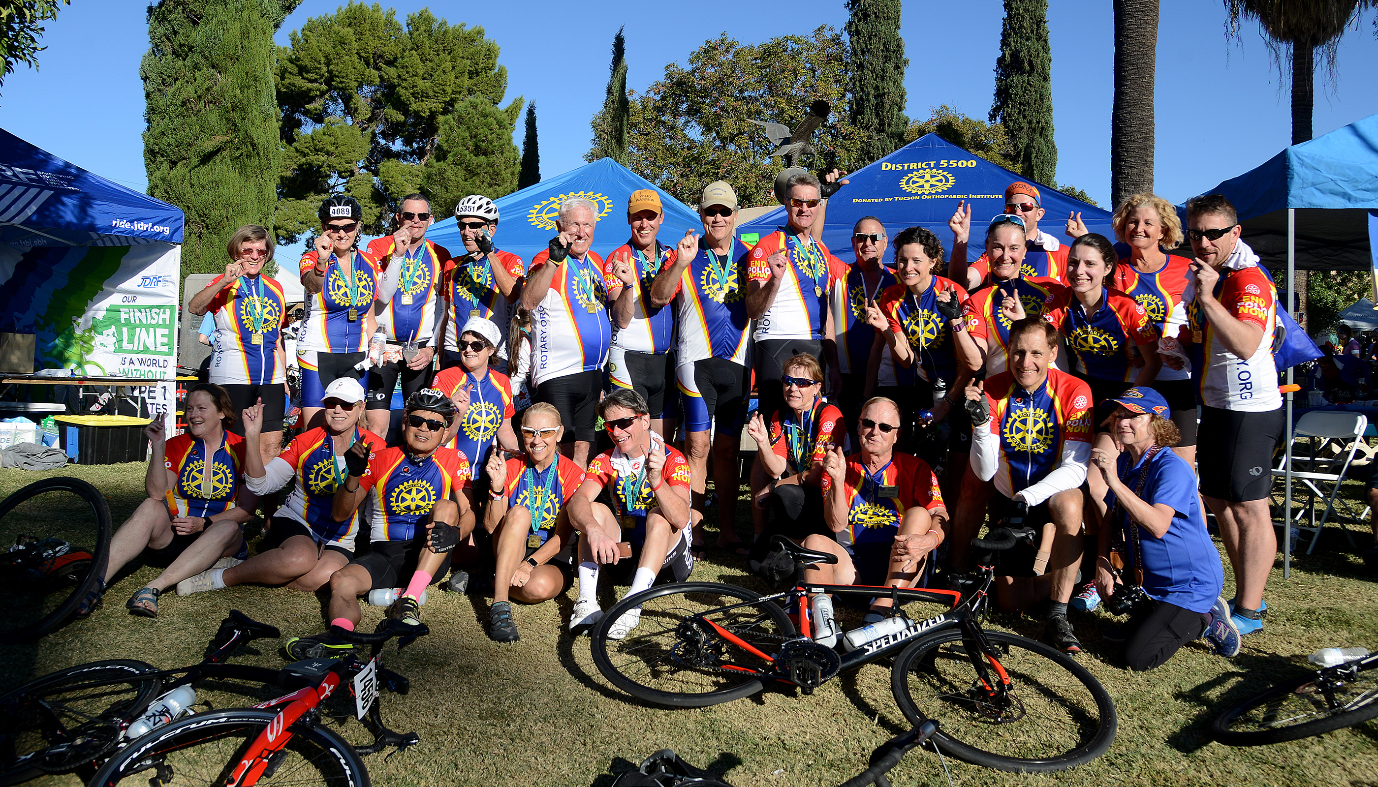 Images from the 2017 Ride to End Polio