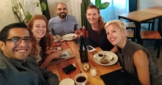 Planning the 2019 Positive Peace Workshop in Mexico.