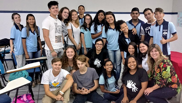 Youth exchange and deaf students