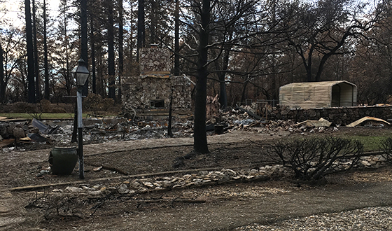 What it's like to escape a wildfire