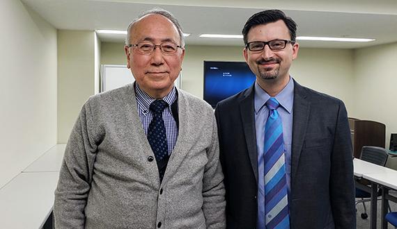 Steven Sundstrom and Dr. Koki Inai