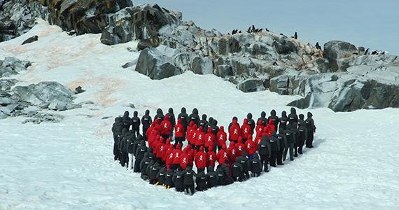 Women scientists on Antarctica