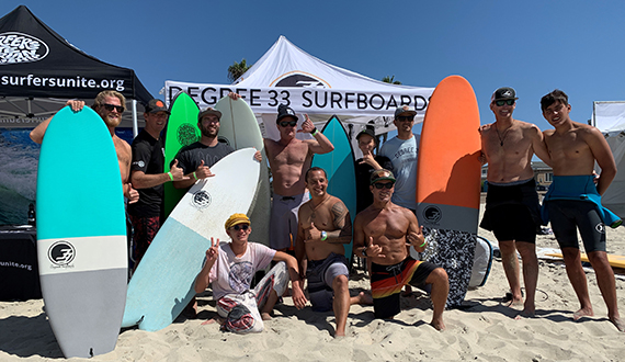 Degree 33 surf team
